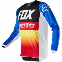 Джерси Fox 180 Fyce Jersey Blue/Red (L)